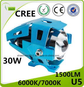 クリー族U5 30W LEDのオートバイレーザーのヘッドライト