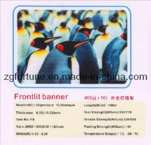 Bandeira do cabo flexível do PVC de Frontlit (400g, 200*300d/18*12)