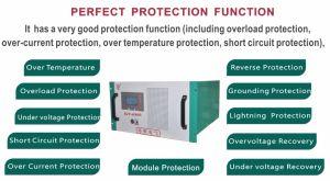 Низкое Frequecy трансформатора гибридный инвертор-6u-Inverter-Solar Rack-Mounted типа ветровой энергосистемы инвертор