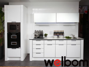 2016年のWelbom 18yearsの工場提供アクリルMDFのドアの食器棚