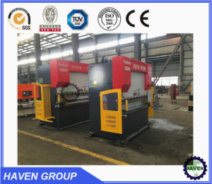 CNC hydraulisches Press Brake, Edelstahl Bendig Machine WE67k- 250X4000