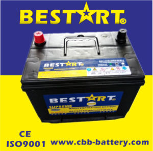Armazenamento de chumbo-ácido Mf bateria de carro/bateria de carro automático 12V60ah-N50zlmf (BCI-24R)