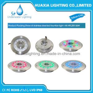 indicatore luminoso subacqueo di 36watt 12V LED per il raggruppamento e la fontana