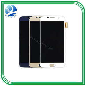 LCD de pantalla del teléfono móvil de Samsung S6 Borde S7 S5 muestra