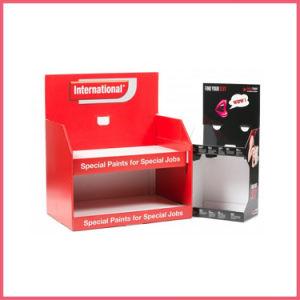 Impresso de Papelão Ondulado Expositor de cartão canelado caixa PDQ caixa de embalagem