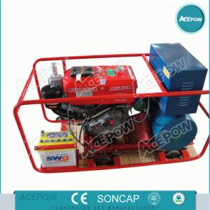 8kw Jiangdong einzelnes Zylinder-Generator-Set