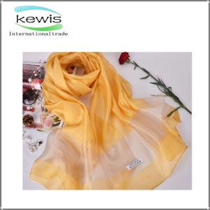 ばねの多色刷りの100%の絹の方法スカーフ
