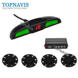 Pantalla LED impermeable retroceso automático de la ayuda del sistema de sensores de aparcamiento Wireless
