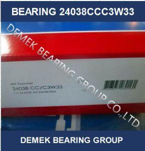 Rolamento de Rolete Esférico de alta qualidade 24038 CCC3W33 com compartimento de Aço