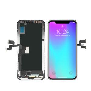 Fábrica de China Supplys Teléfono móvil de pantalla LCD para el iPhone X Xs Xr Max Sustitución del panel de pantalla táctil con el digitalizador general