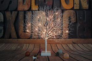 Natale ed illuminazione dell'albero di corallo della decorazione LED