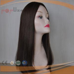 絹の上の完全なレースの長いバージンの毛のかつら(PPG-l-01628)