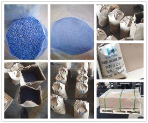 Il grano abrasivo di ceramica della granulosità del corindone blu per legato/ha ricoperto gli abrasivi