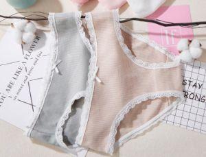 1ff82787 La mujer 100%Algodón Panty de encaje ropa interior para damas
