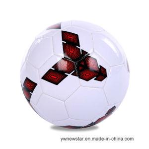 5# PVC学校のスポーツのための継ぎ目が無いすべり止めのサッカーボール
