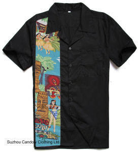 De nieuwe Club van het Af:drukken van de Tatoegering van de Nieuwigheid van Ontwerpen Mannelijke Amerikaanse plus de Overhemden van de Grootte