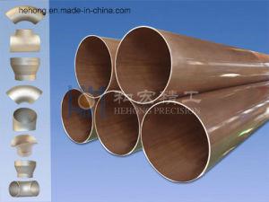 Tubo di rame del nichel 2.0872 di BACCANO 17664, tubo C70600 C7060X C71500 C71640 C70400, CuNi90/10 CuNi70/30 per lo scambiatore di calore, di CuNi leghe di rame modellate marine DIN17664