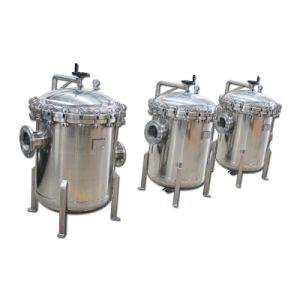 Alloggiamento Ss304/316 del sacchetto filtro per la filtrazione dell'acqua di pozzo profondo