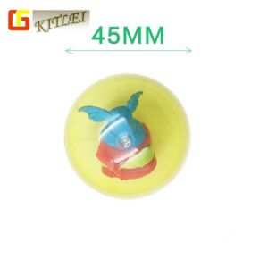 子供のプラスチックおもちゃ45mmのカプセルのための卸し売り昇進のカプセルのおもちゃ