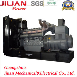Prix de vente du fabricant d'usine de Guangzhou 600kVA Groupe électrogène Diesel avec moteur Perkins
