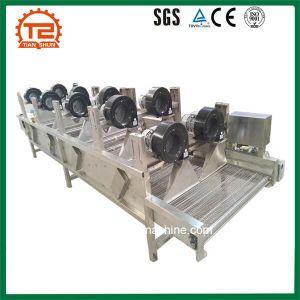 Transportador de correia de malha de máquina de refrigeração do secador de ar do secador de chips de coco