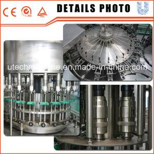自動天然水の瓶詰工場または水差しの充填機
