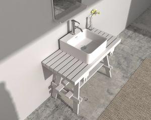 Gesundheitliche Ware Amerikanischer Art Möbel Festes Holz Eitelkeits  Badezimmer Schrank