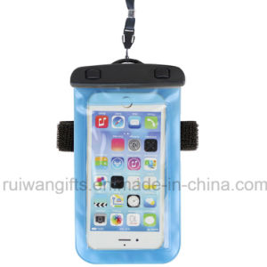 2015 schiocco Waterproof Bags per Mobile Phone con Arm Band