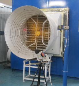 Motor eléctrico de lâmina de aço inoxidável Shell de PRFV Exaustor para suína House/ Avícola