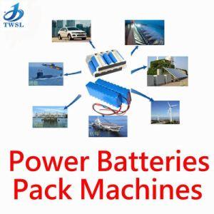 Batería completamente automática CNC Punteadora Twsl-700L completamente la batería del vehículo eléctrico de doble cara automática Máquina de soldadura por puntos de venta directa de fábrica