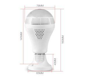 Téléphone mobile WiFi Remote 360 Degré Ampoule LED caméra panoramique