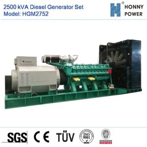 gruppo elettrogeno diesel 2500kVA con il motore Hgm2752 di Googol