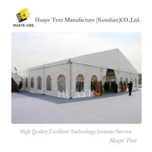Luxury grande evento de casamento no exterior branco tenda para 300 lugares