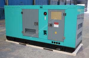パーキンズエンジン100kVA/80kwを搭載する防音のディーゼル発電機