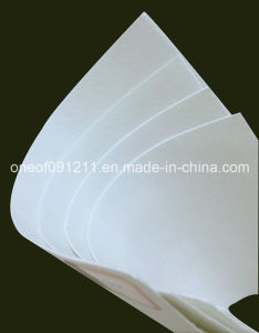 Folha química não tecida para o Forro de Foring Toe Puff e Counter Material