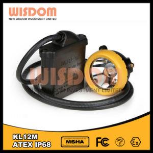 クリー族LED鉱山のヘッドライト、抗夫の帽子ランプ、知恵Kl12m