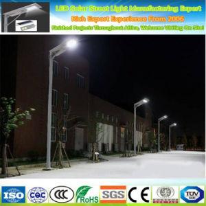 Ajustable en una sola calle luz LED solar 20W integrado, calle la luz solar, Energía Solar de la luz de la calle