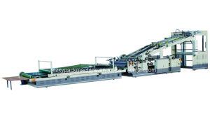 Flauta laminado Pegado de corte de la máquina de cartón troquelado de asignación de fechas
