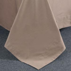 300 Fios de algodão egípcio Sateen Edredão fina roupa de cama da Tampa