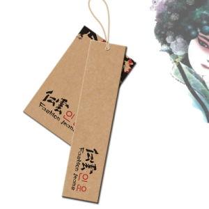 PapierHangtags für Kleidungs-Fall versieht Drucken mit Warnschild