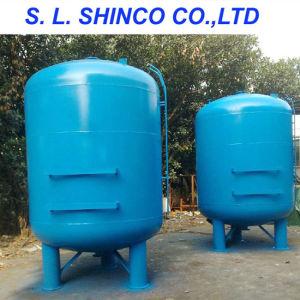 직경 1m 탄소 강철 활성화된 탄소 필터 탱크