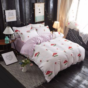 安い価格はポリエステルホーム寝具セットを印刷した