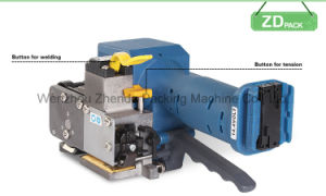 Máquina flejadora eléctrica para PET/PP tiras (P323)