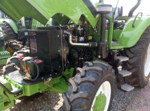 90HP 4WD grande agricultura de Cavalos de potência do trator Challenger Traktorpool da Máquina