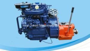 Kleine Mariene Dieselmotor voor Open Reddingsboot zx2105j-1 (17.6KW/1500RPM 20.6KW/200RPM)