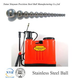 AISI304/SUS304 Bola de acero inoxidable para pulverizadores de mochila G100 de 5.556 mm 7/32 pulg.