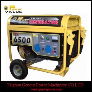Большой топливный бак 16HP генератора двигателя 7Квт генератора