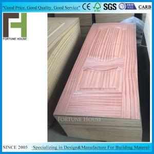 Les planchers MDF Sapeli moulé de placage de la peau de porte