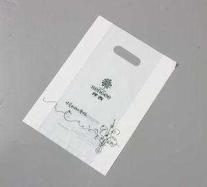 Förderndes kundenspezifisches Firmenzeichen LDPE/HDPE stempelschnitt kundenspezifischer Druck-Plastiktasche