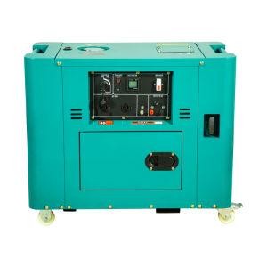 12kw diesel generador silencioso con cilindro doble, vertical, cuatro tiempos, refrigerado por aire, motor de pulverización directa